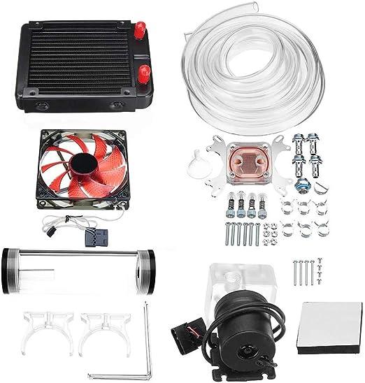 Ventilador de la computadora 120 mm de bricolaje PC líquido del ...