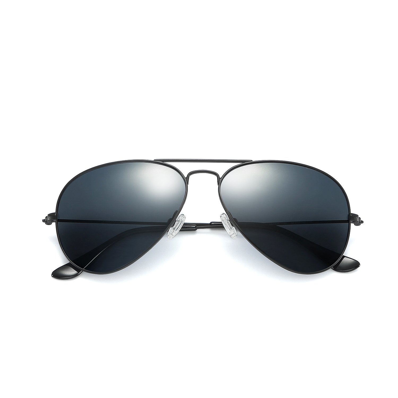 fac827573ee Amazon.com  Aviator sunglasses LC19303S Black 58MM  Clothing