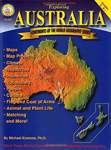 Exploring Australia, Grades 4-8 (Continents of the World)