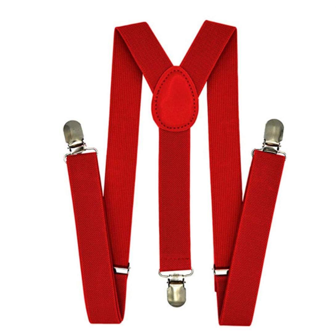 Bretelles Réglables élastiques Clips Retour Forts Bracelet Enfants pour Suspenders Garçons Et Les Filles