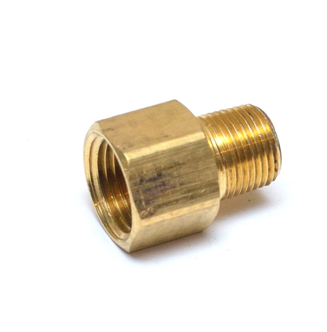 Tee Pipe Adapter 1//2 Female x 1//2 Female x1//2 Male Fittings Connector Brass NPT