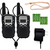 Kids Walkie Talkies Rechargeable Boys Girls Two Way Radio 2 Pack Walky Talky