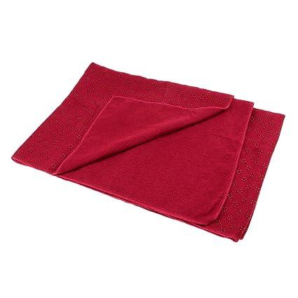 Toygogo Antideslizante Microfibra Yoga Mat Cover Toalla ...