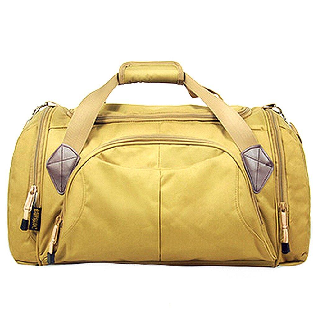 MEI XU Handtaschen Sport Fitness Männer und Frauen Fashion Training Bag Outdoor Freizeit Reisetaschen 35L Schlamm Farbe @