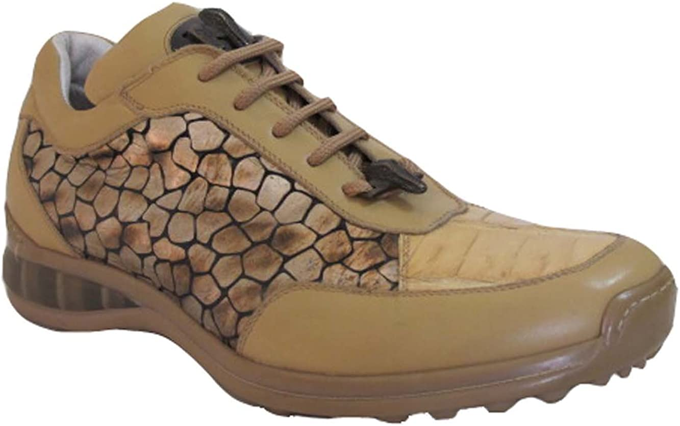 Mauri 8741 Men's Sneakers crcodile tip