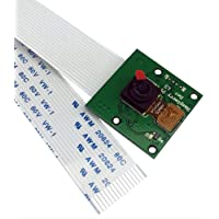 カメラモジュール 感光チップOV5647センサー 5M画素 Raspberry Pi 1 2 3 Model B B A+対応