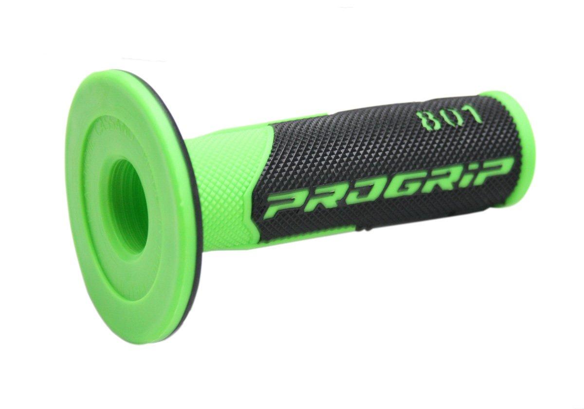 Progrip PA080100VF02 Progrip color verde fl/úor y negro Mango para manillar MX 801