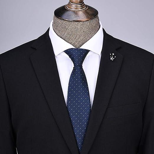 ChenTeShangMao Corbata Negra Ropa Formal For Hombres Corbata De ...