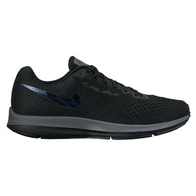 huge discount dbd74 5b274 Amazon.com   Nike New Men s Air Zoom Winflo 4 BTS Running Shoe Black Dark  Grey 11   Road Running