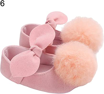 New Lovely Infant Baby Shoes Toddler Girls Princess Shoes Cute Bow-knot Soft