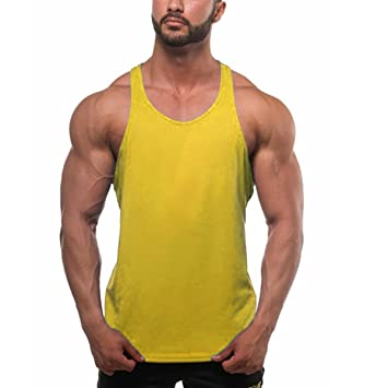 1c7e5bf7 ZUMUii Butterme Men's Cotton Tank Top String Vest: Amazon.co.uk: Electronics