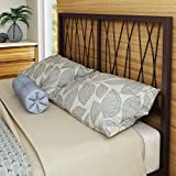 Amisco Ivy Metal Headboard Only, Full Size 54, Sienna/Mat Medium Brown