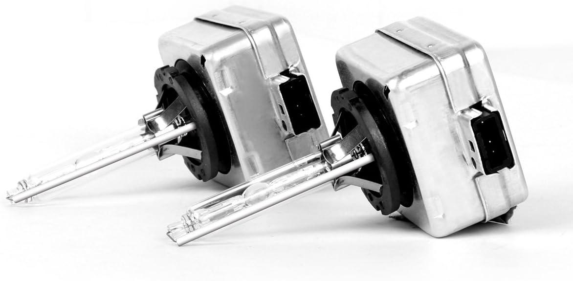 confezione da due lampadine D2S HID Xenon Shfy fari auto lampadine di ricambio 35W 5000K alta e bassa fascio - 1 anno di garanzia D2S,5000K