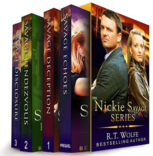 The Nickie Savage Series Boxed Set cover