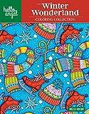 Hello Angel Winter Wonderland Coloring Collection (Hello Angel Coloring Collection)