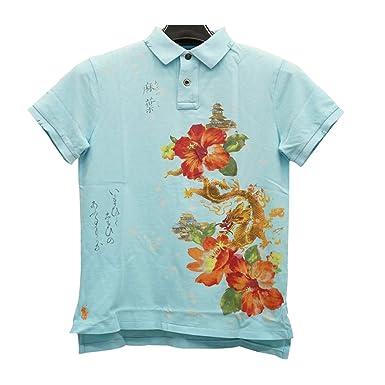 c5b2f76c (ラルフローレン) Ralph Laurenカスタムフィット トロピカル ポロシャツ S Tropical Polo 並行輸入品