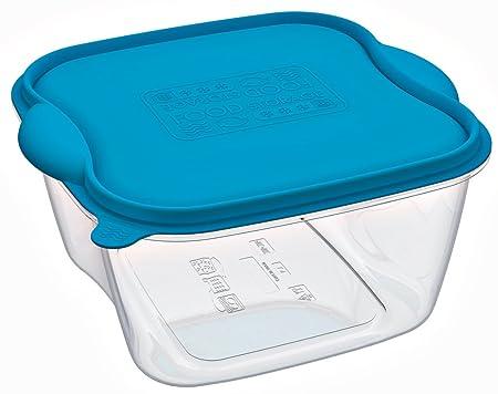3 Fiambrera congelar, recipientes Microondas recipiente de ...