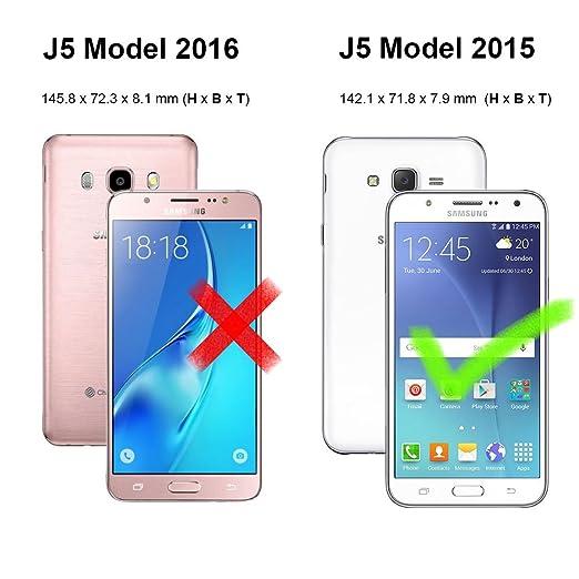 59 opinioni per zStarLn® luxury Portafoglio Protettiva Custodia in pelle per Samsung Galaxy J5