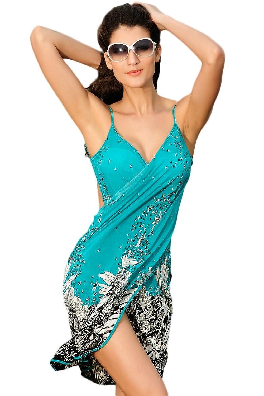 NICE BUY Damen Strandkleid Negril Cover-up Badeanzüge Beachwear