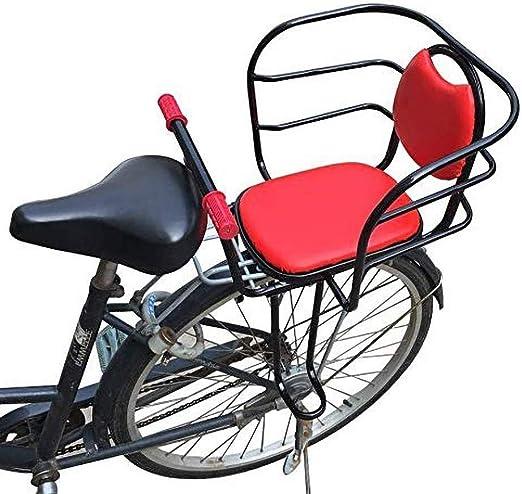 QXFJ Silla Bicicleta NiñO,Asiento Trasero De Bicicleta Asientos ...