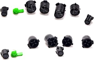 Deal4GO Full Face Button Set ABXY/View/Menu/Xbox/SYNC Buttons for Xbox One Elite Controller Replacement