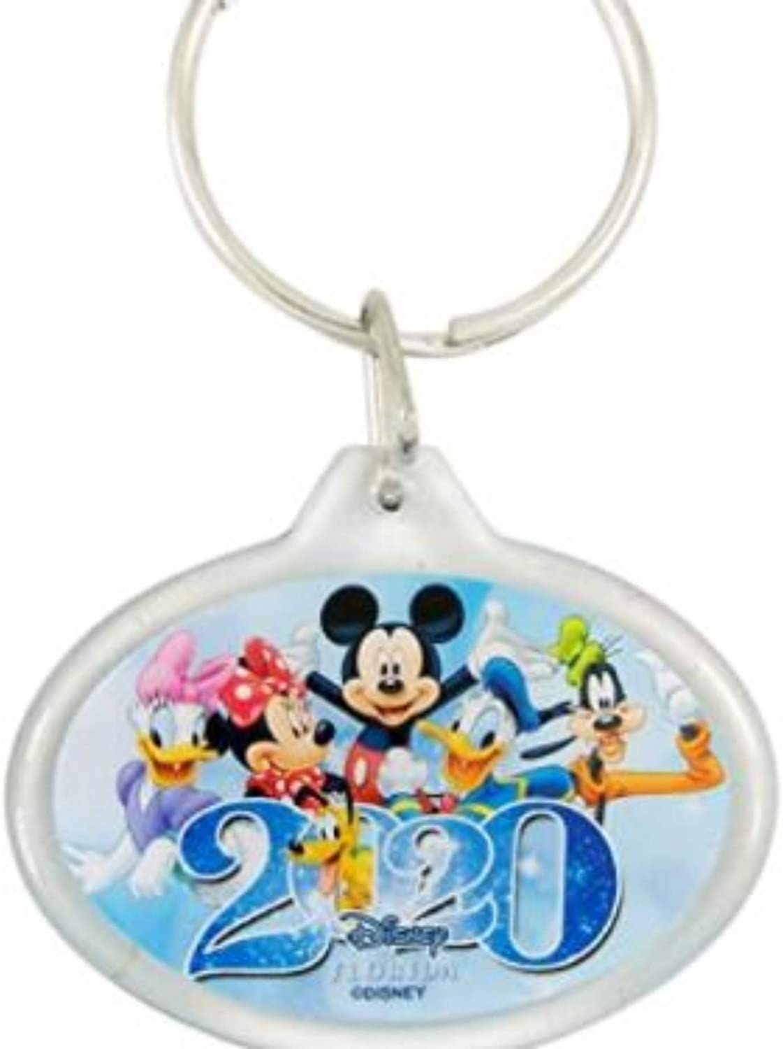 Disney Mickey Mouse And Friends Florida Dated 2020 Keychain, 2 1/4 Inch