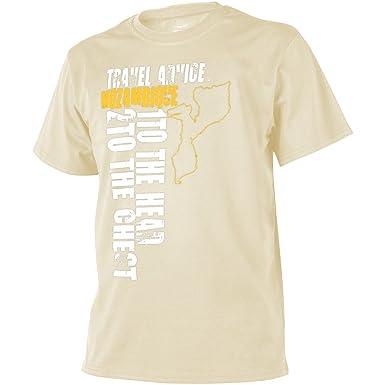 c64050d9eb9c57 Helikon Herren Travel Advice  Mozambique T-shirt Khaki  Amazon.de   Bekleidung