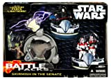 Name: Battle Pack Skirmish in the SenateManufacturer: HasbroSeries: Saga '06 Star Wars Battle PackRelease Date: May 2006Details (Description): We could talk about the Emperor figure, or the Yoda figure, but why bother, this set is all about the two S...