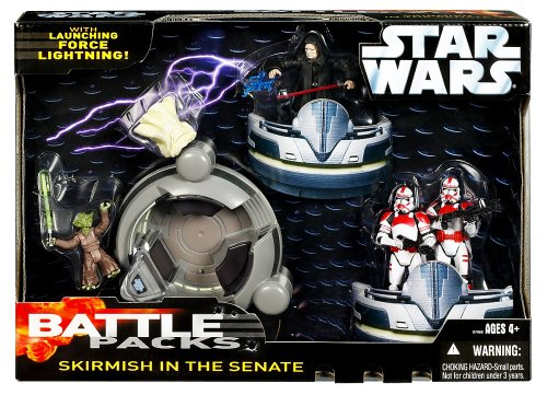(Star Wars Saga '06 Action Figure Battle Pack Skirmish in the Senate)