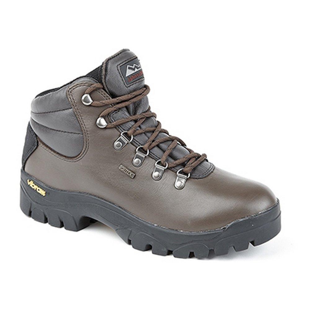 Johnscliffe Boys Highlander II Waterproof & Breathable Hiking Boots (5.5 US) (Brown)