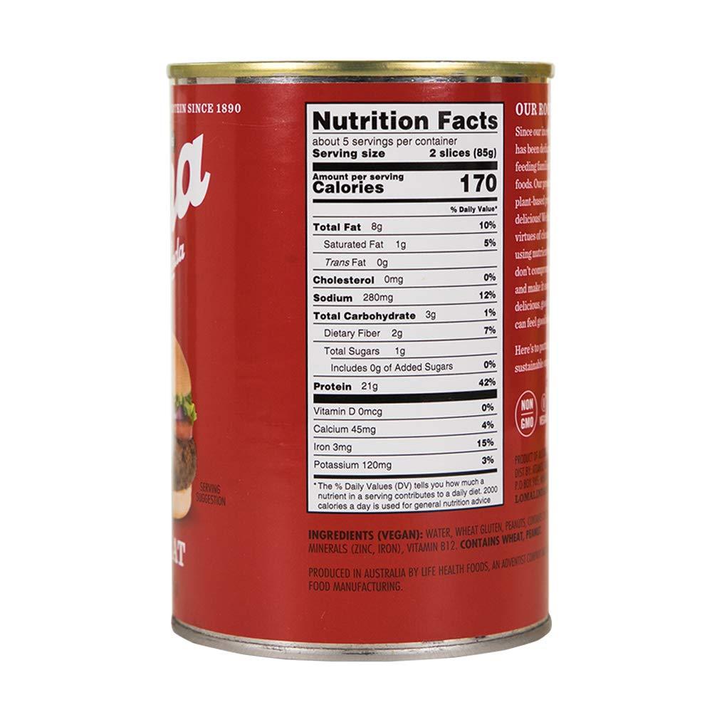 Loma Linda - Plant-Based - Nutmeat (14.6 oz.) (Pack of 6) - Kosher by Loma Linda (Image #7)