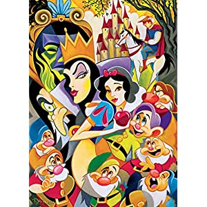 Ceaco Disney Fine Art Enchantment of Snow White Jigsaw Puzzle, 1000 Pieces
