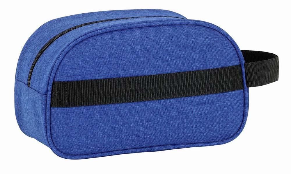 blu colore Safta 841734248 BLACKFIT8 Beauty case con manico e adattabile a carrello
