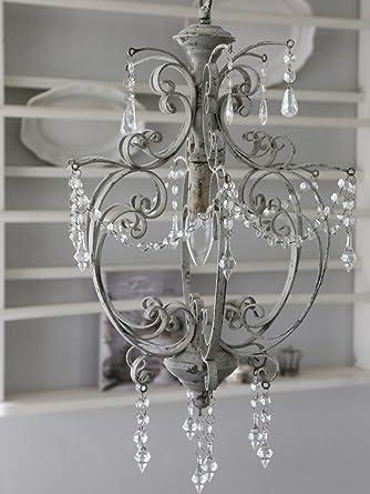 Chic Antique Lámpara de araña estilo vintage Shabby Chic