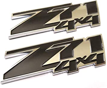 Yoaoo/®3x OEM Red Grill and Decals Z71 Emblem Badge for GMC Chevy Silverado 1500 2500HD Sierra Tahoe Suburban 3D Chrome 23172681