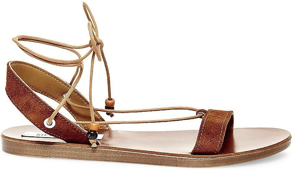 Steve Madden Womens Rennyy Flat Sandal
