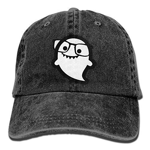 MingDe YY Hi I'm Ghost Sunglass Vintage Trucker Hat Washed Denim Adult Cowboy Hat Baseball - Sunglasses Buy I Where Can