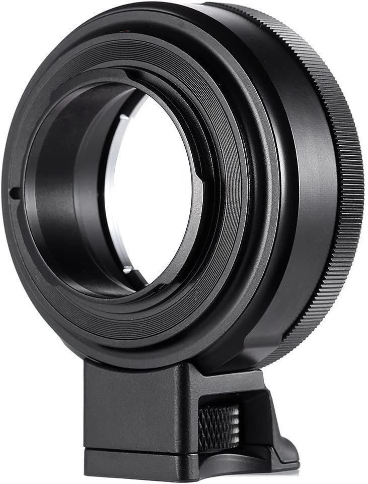 NF-E1 Auto Focus Lens Mount Adapter Ring for Nikon F Mount Lens to Sony E Mount Camera,Transmit EXIF Data Control Aperture, with USB Update Port