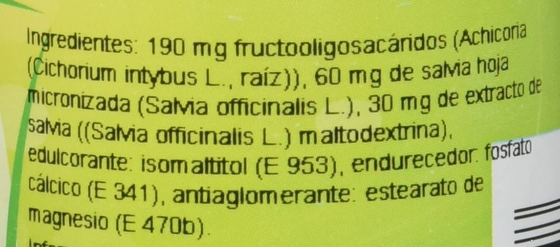 Ghf Complemento Alimenticio con Salvia - 100 Comprimidos: Amazon ...
