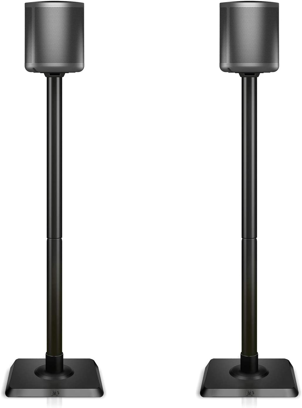 Mounting Dream Speaker Stands for Satellite & Small Bookshelf Speakers - Set of 2 Floor Stand Mount for Bose Polk JBL Sony Yamaha and Others - 11LBS Capacity MD5402 (Speakers Not Included)
