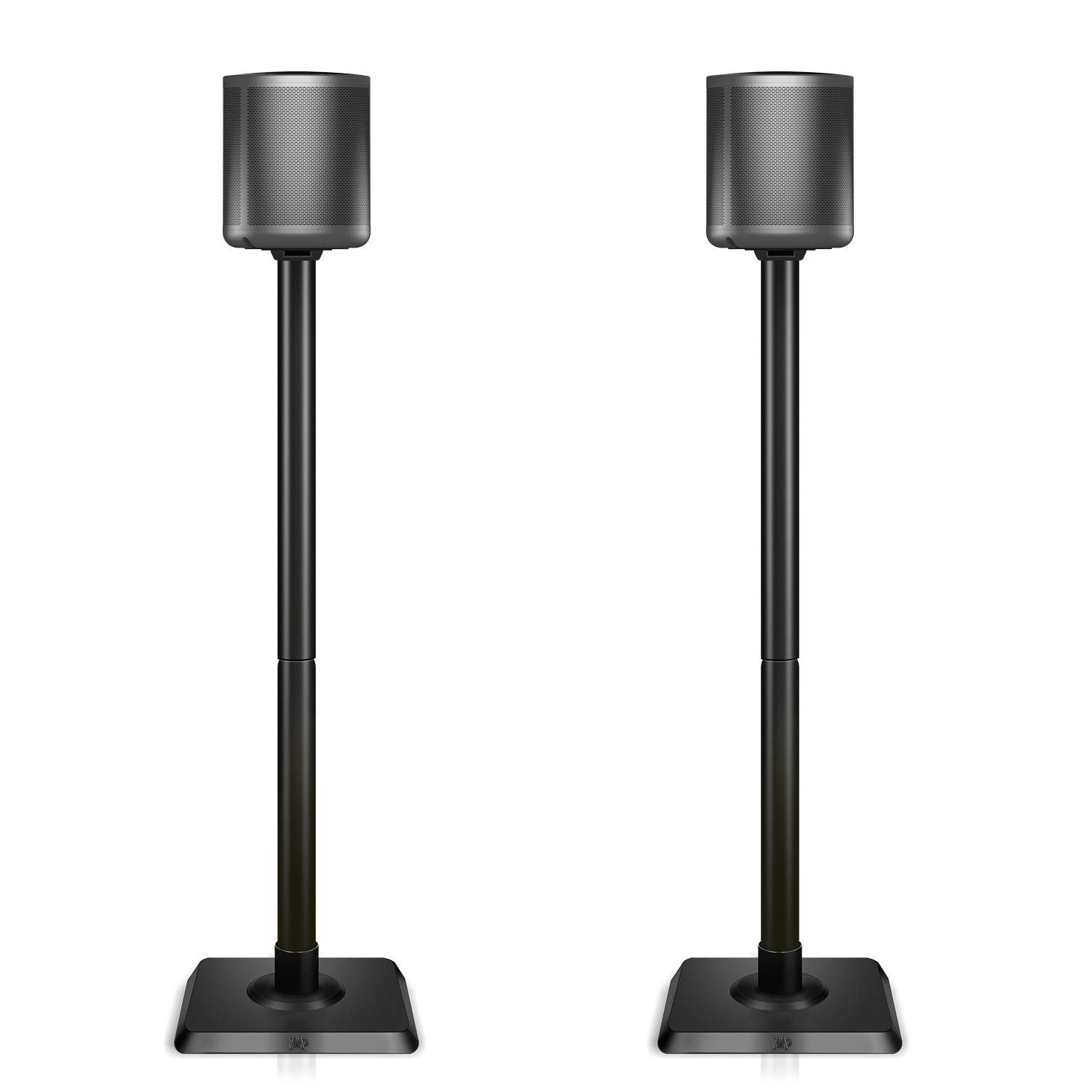 Mounting Dream Speaker Stands for Satellite & Small Bookshelf Speakers - Set of 2 Floor Stand Mount for Bose Polk JBL Sony Yamaha and Others - 11LBS Capacity MD5402 (Speakers Not Included) by Mounting Dream