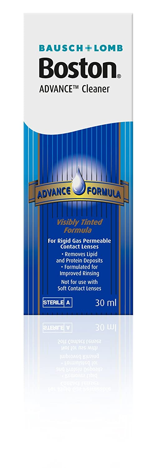Bausch & Lomb Boston Advance Hard & Gas Permeable Contact Lense Cleaner 30ml 7391899838175