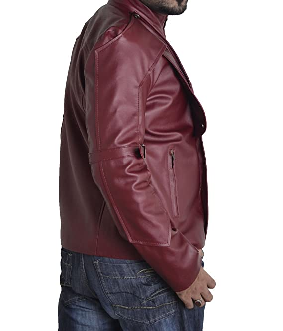 Bskull Guardian Men's Faux Galaxy Leather The Of Jacket 5xl r1r4ByFAcq