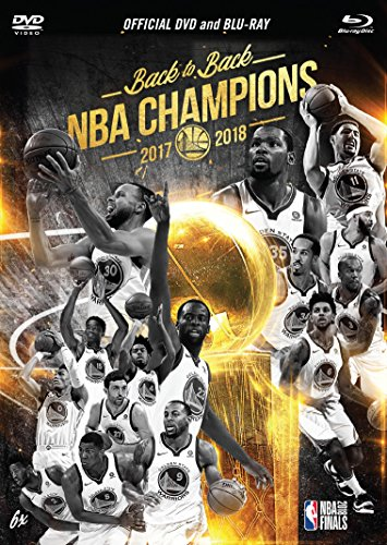 NBA: 2018 Champions Golden State Warriors DVD/Blu-ray Combo