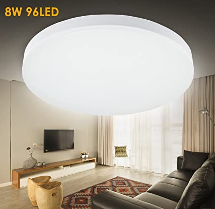 SG Lighting LED Flush Mount Ceiling Light Fitting For Living Room Bathroom Bedroom And Dining With 4000k Color Temperaturenatrual
