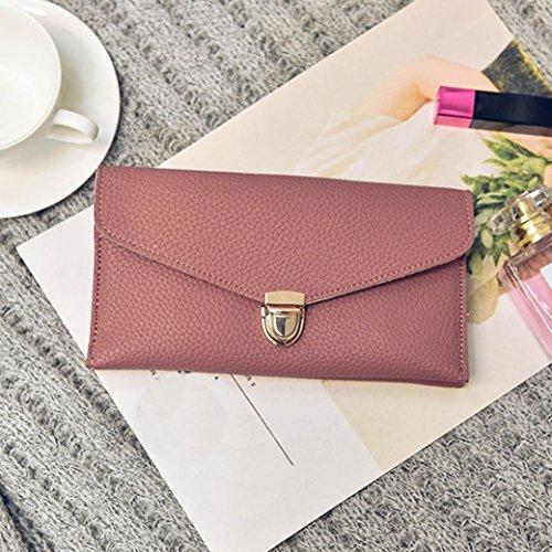 Bovake - Bolso mochila  de Piel para mujer Red