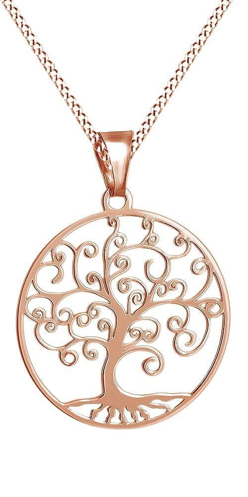 Amazon.com: Árbol de la vida collar con colgante de ...