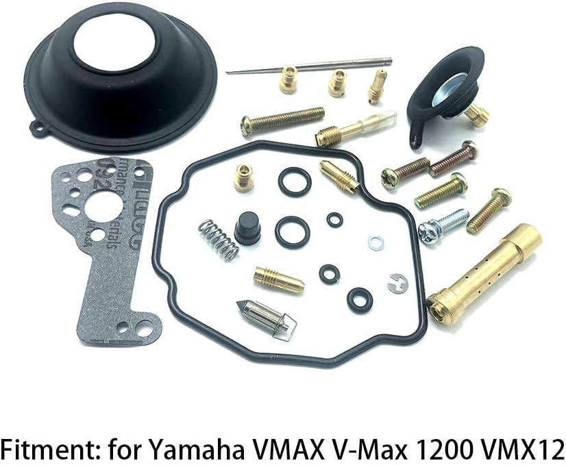 Accessoires de Moto kit de r/éparation de carburateur en m/étal Outils de r/éparation de Moto GCDN Kit de r/éparation de carburateur de Moto for Yamaha V-Max 1200 // VMX 12
