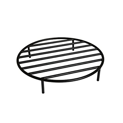 Onlyfire Round Fire Pit Grate with 4 Legs for Outdoor Campfire Grill  Cooking, 22 Inch - Amazon.com : Onlyfire Round Fire Pit Grate With 4 Legs For Outdoor