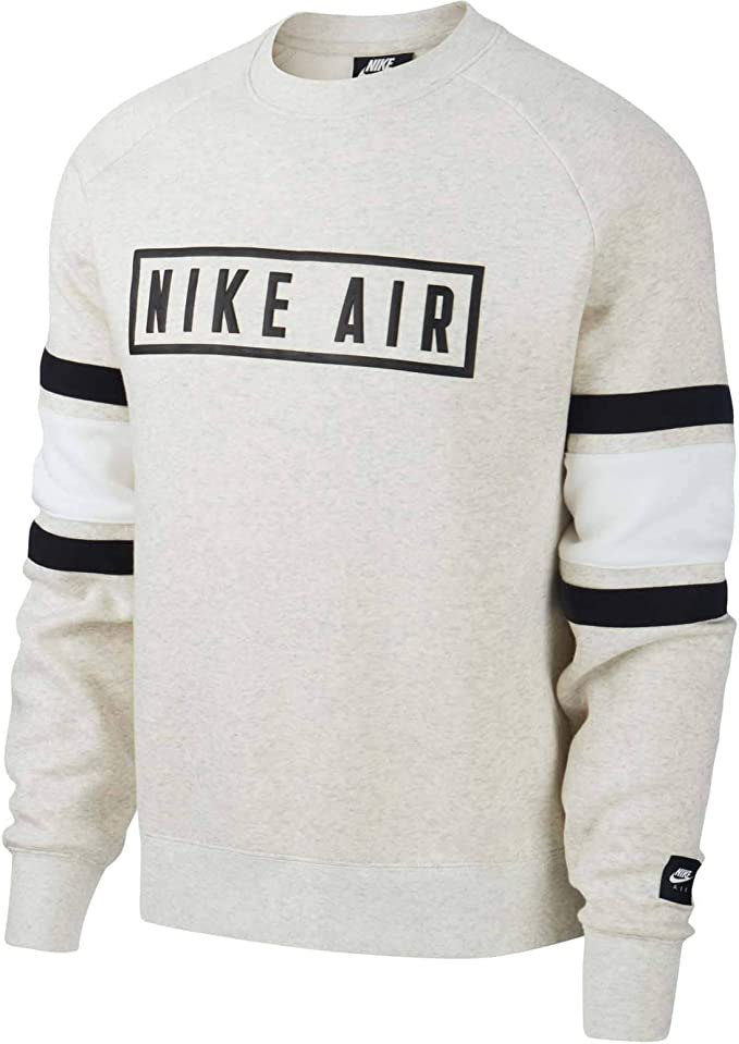 Nike M NSW Air Crew FLC, Felpa Uomo